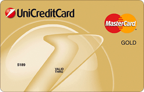 Кредитная карта Gold Mastercard