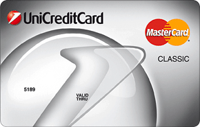 Кредитная карта Standard Mastercard